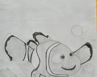 Original Modern Art Logo Customized Art Nemo Logo Gift Art Fine Original Painting Art Wall Original Modern Art Abstract Modern Art Fine Art