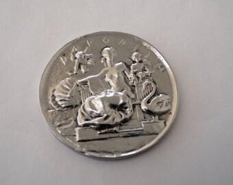 Aphrodite Goddess necklace - Venus goddess necklace - Aphrodite Goddess medal - Ancient greek goddess Aphrodite