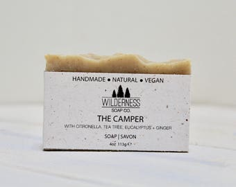 Camping Soap, Natural Soap, Vegan Soap, Palm Free Soap, Handmade Soap, Cold Process Soap
