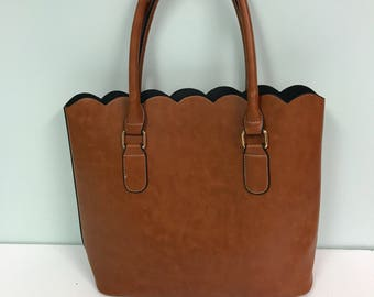 Leather hand bags