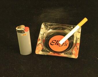 Vintage Elby's Glass Ashtray