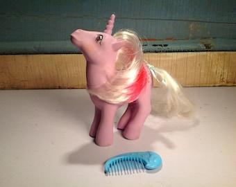 Vintage my little pony Powder