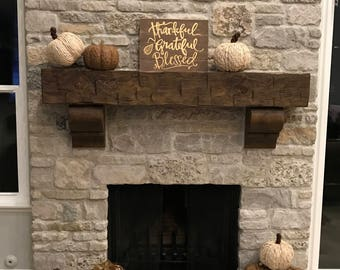 Shop for rustic mantel on Etsy