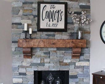 Shop for fireplace mantel art on Etsy