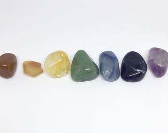 Chakra Stones ~ Chakra Set ~ Crystal Set ~ Chakra Stone Set ~ Chakra Crystals ~ Chakra Crystal Kit ~ Chakra Crystal Set ~ Chakra Gift