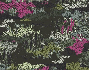 Esoterra by Art Gallery Fabrics - Camouflage Mimicries - Cotton Woven Fabric