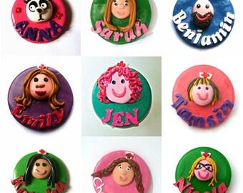 Nurse name badge, Nurse badge, Name badge, personalised badge, button, custom made, nurses