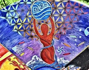 Water Goddess* print