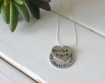 Gotcha Day Necklace