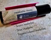 Headache Relief - Tension headaches, sinus & stress headache. Aromatherapy. Organic