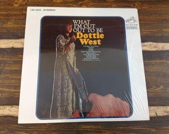 What I'm Cut Out To Be Dottie West Vintage Vinyl Record LP 1968