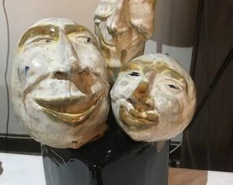 Pleased. Sculpture