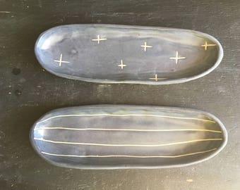 small long oval tray