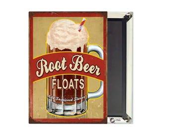 Root Beer Floats Magnet
