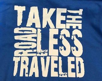Road Less Traveled Blue M