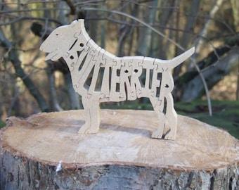 Bull terrier gift, Bull terrier ornament, Bull terrier gift, gift for Bull terrier lovers. gift for dog lover,wooden ornament,