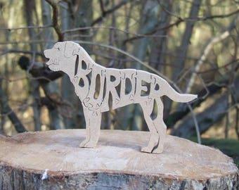 Border Terrier, Border Terrier ornament, Border Terrier gift, Border Terrier memorial, dog breed gift,  unique gift,