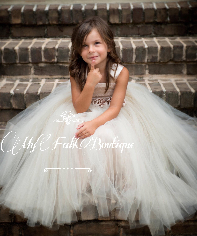 Tulle Dress Flower Girl Tutu DressSoft Tulle Wedding Dress
