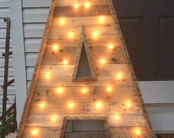 "48"" Lighted Marquee Letters 