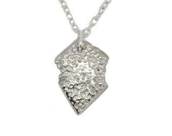Contemporary Unearthed Style Jewellery Pendant. Artistic Handmade, Alternative , Bespoke, Unisex