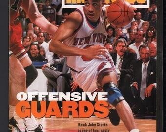 Vintage Magazine - Sports Illustrated : May 30 1994 - John Starks