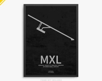 MXL Airport, Mexicali International Airport, Mexicali Mexico, MXL Airport Poster, Mexicali Airport, Mexicali, Mexicali Airport Poster, MXL