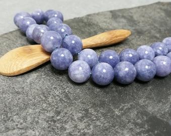 Angelite, 12/10/6 mm semi precious Gemstones beads not dyed gemstone beads