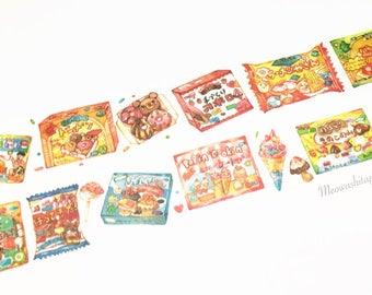 Fun Japan sweets washi tape (T01106)