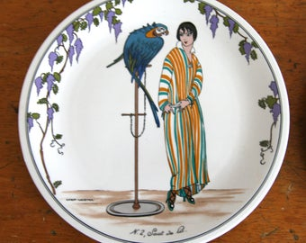 Villeroy and Boch vintage fashion plate 1990