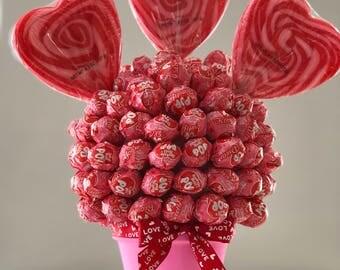 Valentines Lollipop Bouquet - Whirly Pop