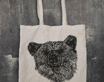Bear Tote Bag - bear, animal, beast