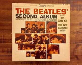 1964 The Beatles Second Album Vinyl Album / ST- 2080 / Capital Records