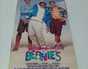 Weekend at Bernie's, Vintage VHS tape 1989 rated PG13 comedy
