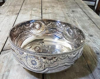 Vintage Silverplated Fruit Bowl