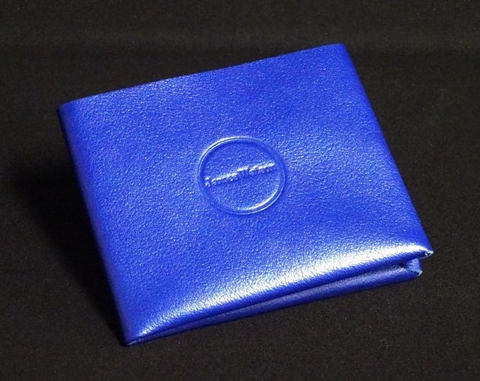 8Pocket Wallet - Blue Glaze - Kangaroo leather with RFID credit card blocking - Handmade - James Watson