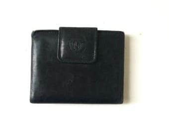 Vintage Black Leather Wallet