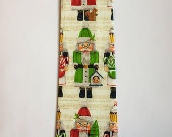 Christmas tie, Christmas light bulb tie, winter tie, reindeer tie, nutcracker tie, holiday tie, father son ties, clip on tie, Thanksgiving t