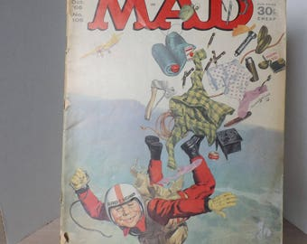 2- 1966 MAD COMIC BOOKS