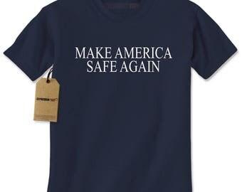 Make America Safe Again Mens T-shirt