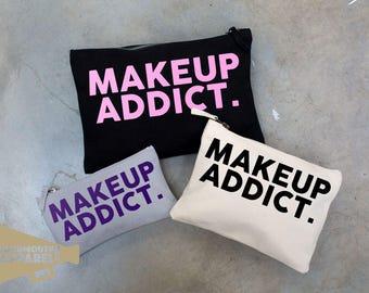 Makeup Addict Make Up Bag Pouch Make Up Case