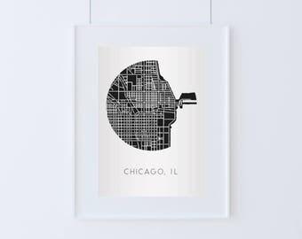 Chicago, IL City Map