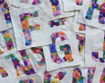Bloom Alphabet / Individual Letters