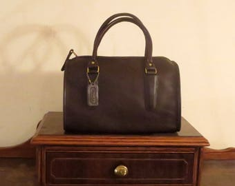 Spring Sale Coach Madison Satchel In Mocha Leather With Brass Hardware Style No. 9725- Made In The Factory In NYC- EUC