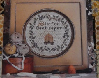 B is for Beekeeper The Alphabet Series #5 by Heartstring Samplery
