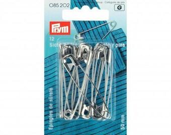 50 mm steel safety pins