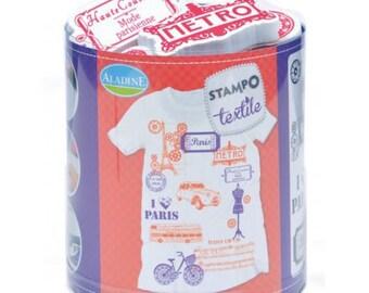 Stamps to print mold best textile paris