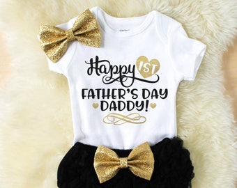 baby girl clothes daddy - daddys first baby girl clothes - daddys girl - baby girl outfits - baby shower gift - daddy's girl - Father's Day
