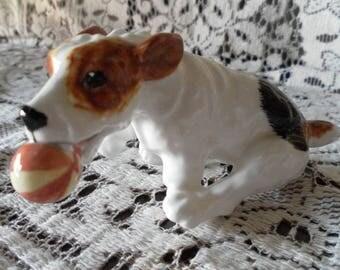 Royal Doulton CHARACTER DOG with ball