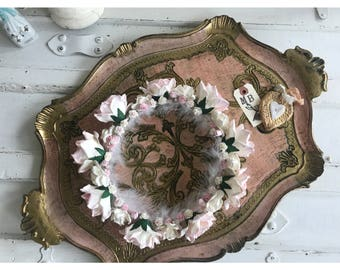 Romantic Shabby Chic Flower Crown