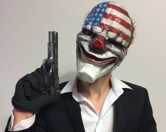 Dallas mask Payday 2 inspired